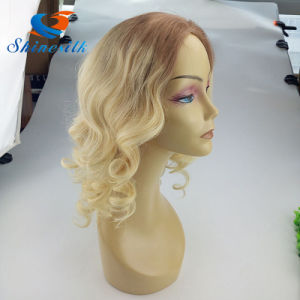 Blonde #613 Color Brazilian Full Lace Wig Wavy Hair Wig pictures & photos