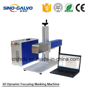 Fiber Laser Marking Machine Sg7210-3D for Metal Surface Printing pictures & photos