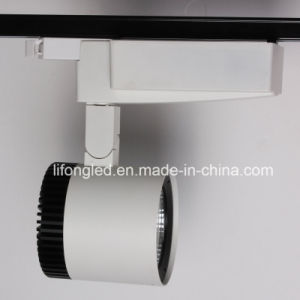 Warranty 3 Years Dimmable CRI 90 25W 30W 35W COB LED Track Light with Ce RoHS pictures & photos