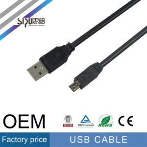Sipu High Quality 2.0 Cu+CCS Male to Mini USB Cable pictures & photos