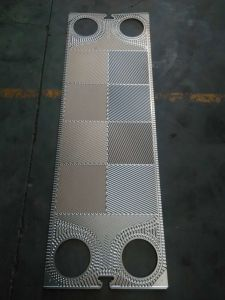 Heat Exchanger Spare Parts Manufacturer Plate for Plate Heat Exchanger Tranter Gx64 Ss304 Ss316L Plate pictures & photos