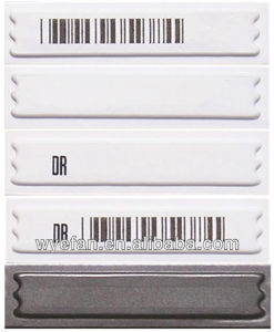 EAS Soft Label Anti Theft Dr Label