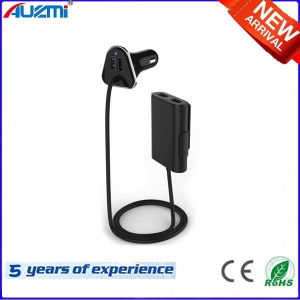 Universal 4 USB Phone Car Charger with Special Style