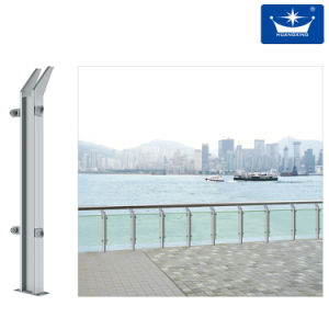Modern Beech Steel Post System pictures & photos