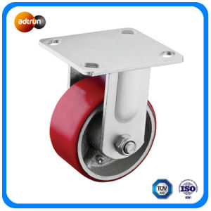 Heavy Duty Top Fixed Plate Industrial Casters pictures & photos