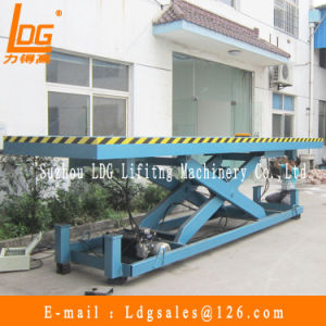 Stationary Hydraulic Scissor Lift Platform (SJG10-4)