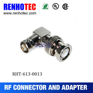 Right Angle RF Appliance BNC Male to Female Connector RF Adapter pictures & photos