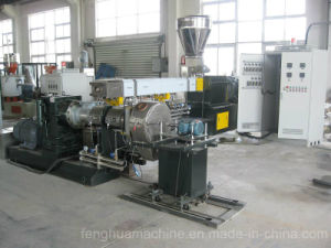 High Efficiency Waste Pet Bottle Flakes Pelletizing Machinery pictures & photos