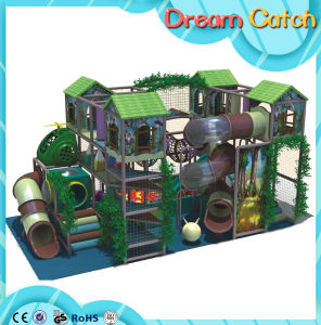 Exciting Dragon Slide Professional Indoor Playground Business pictures & photos