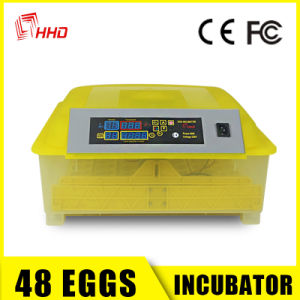 Fully Automatic Poultry Small Egg Incubator for Hatching Machine pictures & photos