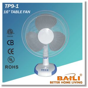 "16"" Table Fan with Timer pictures & photos"