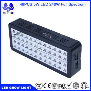 LED Grow Light Bulb, Lampat Grow Plant Light for Hydropoics Greenhouse Organic 240W 3-Band pictures & photos