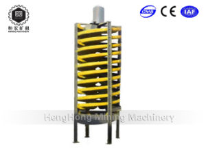 5ll-1500 Fiber Glass Spiral Chute for Coal Washing Processing
