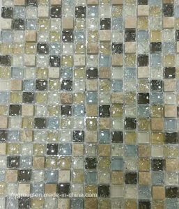 Glass Mosaic Mix Stone and Cracker Glass Jy08k pictures & photos