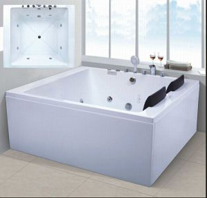 1600mm Jacuzzi with Ce and RoHS for 2 Persons (AT-6002) pictures & photos