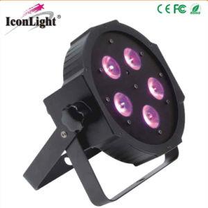 Slim 5X10W 4in1 LED Mega Flat PAR pictures & photos