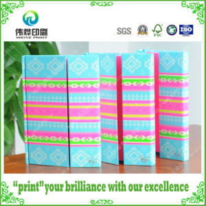 2017 Colorful Printing Gate Folded Cahier / Notebook pictures & photos