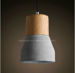 Personalized Fashionable Concrete Restaurant Ceiling Droplight Pendant Light pictures & photos