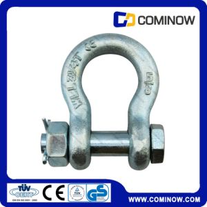 Us Type Drop Forged Carbon Steel Anchor Shackle G2130 / Bolt Shackle pictures & photos