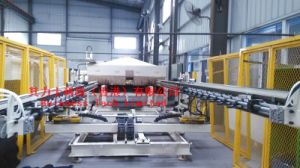 Automotive Carpet & Headliner Production Line with IR Oven pictures & photos