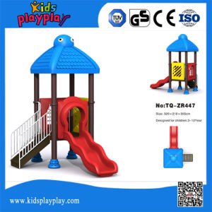 Used Plastic Slide Playground for Sale/Outdoor Soft Playground Set pictures & photos