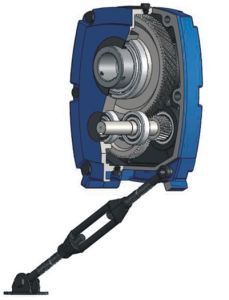 Smr-G Metric Gear Reducer Shaft Mounted Gearbox with Backstop pictures & photos