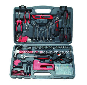 90PC Hand Tool Set with Universal Wrench Socket Set pictures & photos