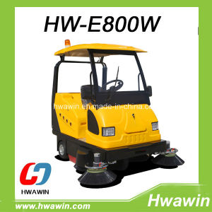 Road Cleaning Sweeper with Golf Car Roof and Front Windshield pictures & photos