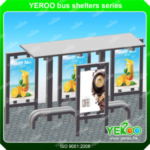 High Quality New Design Street Furniture Advertising Euipment Bus Stop Shelters pictures & photos