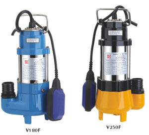 304 Stainless Steel /Cast Iron Submersible Sewage Pump (V180-V1500) pictures & photos