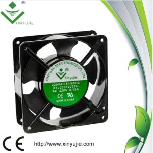 High Powerful Speed Control PWM 3 Wire 120mm 12038 110V AC Fan pictures & photos