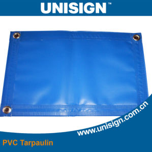 Fire Resistant PVC Coated Truck Cover Tarpaulin with Eyelet pictures & photos