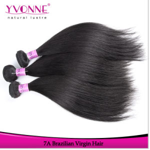 Straight Virgin Brazilian Human Hair Extension pictures & photos