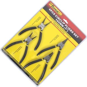"Hand Tools 4PCS Circlip Pliers Set 7"" OEM DIY Decoration pictures & photos"