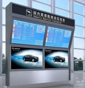 42inch Doubles Sides Information LCD Display pictures & photos