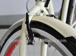 Electric Classic Cruiser Bicycle with Front and Rear Light pictures & photos