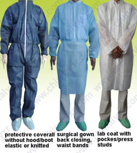 Good Quality Disposable Isolation Gown pictures & photos
