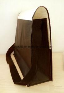 High Quality Promotion Adjustable Strap PP Woven Shoulder Bag pictures & photos