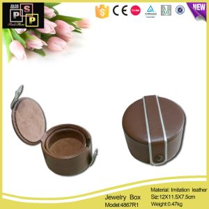 Black PU Leather Divided Make up Holder (1831) pictures & photos