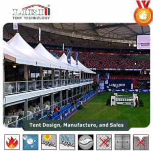 Liri High Quality Large Outdoor Double Decker Tent with High Peak Roof for 2015 Beijing Longines Equestrianism Masters pictures & photos
