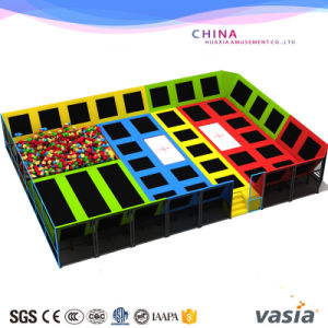 Vasia Children Trampoline Playground for Fitness Hot Selling pictures & photos