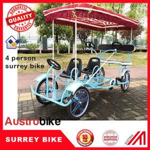 4 Wheel 4 Person Surrey Bike 4 Wheel 6 Person Bike Surrey Bike pictures & photos