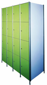 Factory Direct Sale 5 Tiers Key Lock Green Storage Locker pictures & photos