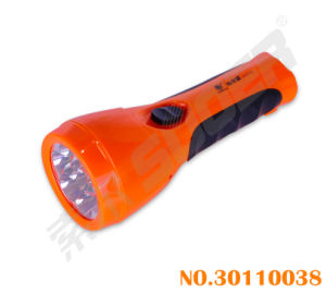 Portable Good Quality LED Torch Rechargeable Flashlight (30110038-LD-213) pictures & photos