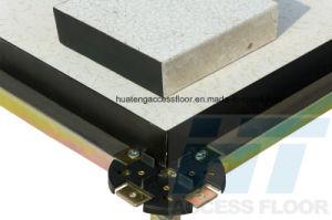 60X60cm Access Floor System in PVC Finish (Calcium Sulphate Core) pictures & photos
