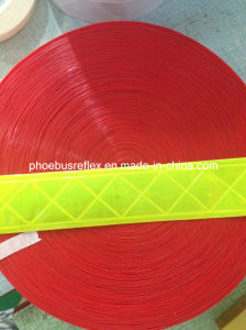 Reflective PVC/Crystal/Microprism Sew on Tape pictures & photos