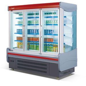 Supermarket Fruit & Vegetable Open display Refrigerator pictures & photos