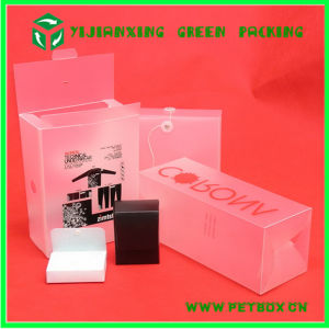 Plastic 0.55mm Pet Packaging Box for Red Wine pictures & photos