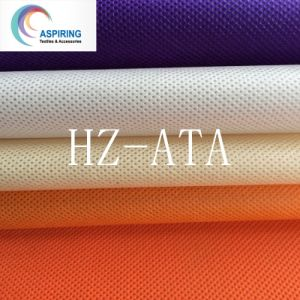 100% PP Spunbond Nonwoven Fabric, Colors Non Woven Fabric for Shopping Bags 75GSM pictures & photos