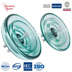 U100 50kn Disk Suspension Toughened Glass Insulator IEC
